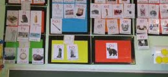 L'affichage des tableaux notionnels en classe.