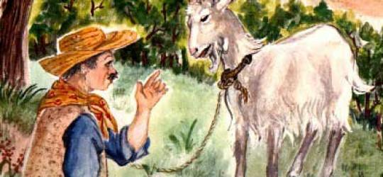 La chèvre de M°Seguin par L'Enseignante : Mme Aslaoui